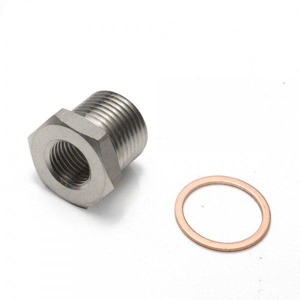 Adapter Redukcja Sondy Lambda M18x1.5 - M12x1.25 - GRUBYGARAGE - Sklep Tuningowy